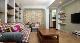 大户型沙发背景墙装修效果图151