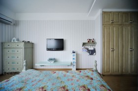 混搭风格卧室装修效果图900