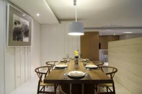 150平三居餐桌装修效果图563