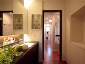 旧房浴室柜装修效果图83