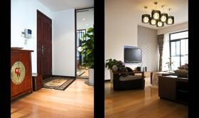 140平三居门厅装修效果图29