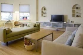 70平三居客厅沙发装修效果图823