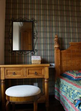 110平三居卧室装修效果图23