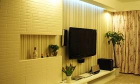三居室客厅装修效果图608