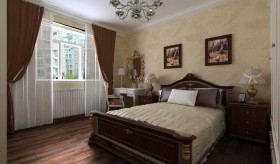 卧室背景墙装修效果图2