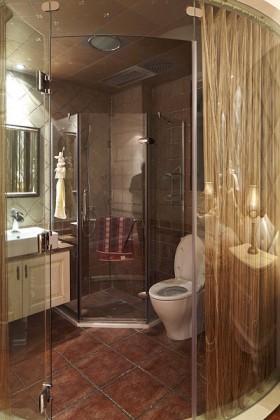 空间欧式风格卫生间奢华一族装修效果图大全2015图片