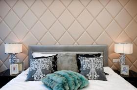 新古典风格床头软包装修效果图29