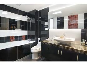浴室柜装修效果图3