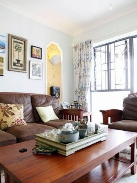 140平家居客厅装修效果图66