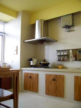 厨房100平米橱柜装修效果图6