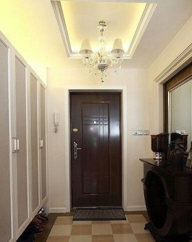 跃层门厅装修效果图1
