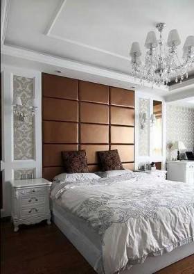 140平欧式家居卧室装修效果图1