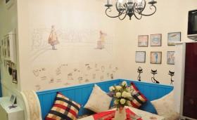 50平家居餐厅背景墙装修效果图176