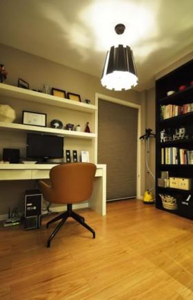 130平混搭家居书房装修效果图206