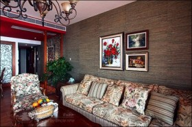 130平家居客厅装修效果图132