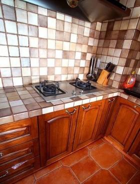 130平厨房橱柜装修效果图29