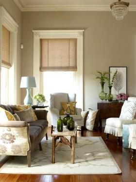 120平温馨家居客厅装修效果图76