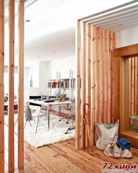 乡村风格LOFT,木色的装扮,返璞归真的乡村风味,很多时候你都想回归自然,把家装成这样就是一个好的选