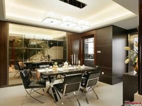 餐厅的现代感觉和舒适风格营造得十分浓郁。