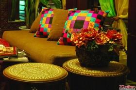 东南亚风情的家不需要正襟危坐的正式,随意舒适才是王道。