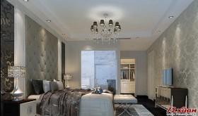 灰色的卧室有着它与众不同的迷人之处。
