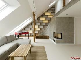 loft风格装修效果图