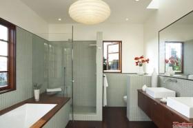 清透的卫浴体验时下正大为流行。