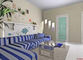 蓝色经典地中海风格