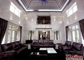 简洁、丰富黑白效果 都市低调奢华完美家居