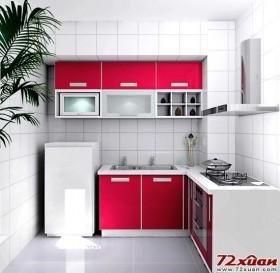 现代化厨房装修效果图