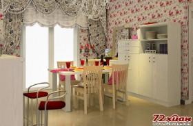 餐厅装修效果图 浪漫爱情的见证