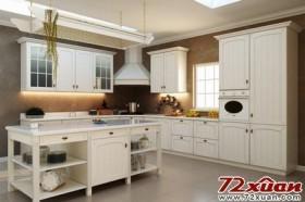2011开放式厨房装修图片