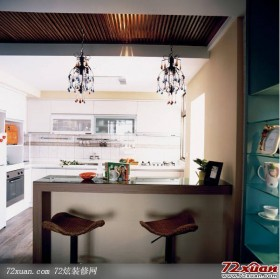休闲厨房装修图片 让你的厨房与众不同