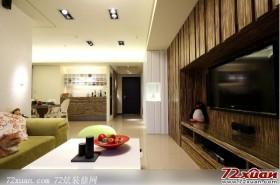 现代感十足的客厅装修