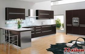 开放式厨房拉伸空间整体感