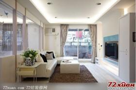 现代客厅装修图片