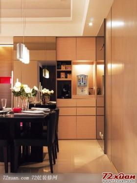 餐厅收纳柜的设计与摆放