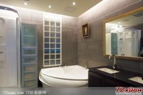 现代卫浴装修图片