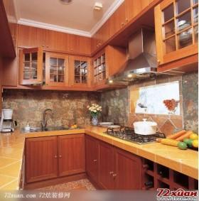 田园风情的厨房装修图片