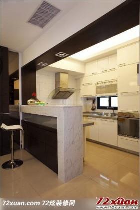 清新明亮的厨房装修