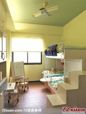 现代简约儿童房间设计图片