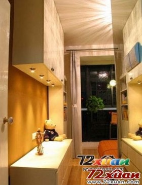 1室1厅变身成为2室2厅