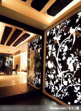 肯设计_02_北市,龙发,王晶,玄关,隐藏门,主墙,造型天花板,地板,