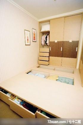 统一的色系整合,龙发,殷勇,多功能室,造型衣橱,地板收纳,造型主墙,