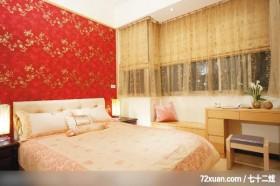大地色系客厅,北京泰吉伟邦设计公司,高震,卧室,造型主墙,化妆台,观景沙发座,观景窗,