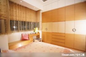 大地色系客厅,北京泰吉伟邦设计公司,高震,卧室,造型衣橱,电视柜,观景沙发座,化妆台,观景窗,