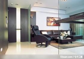 小空间大收藏,龙发,林轶伟,客厅,穿透设计,独创设计,收纳柜,
