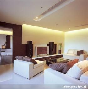 动动格局轻易让小空间展现大气度,北京上尚格室内设计有限公司,张永雷,客厅,造型天花板,造型电视主墙,