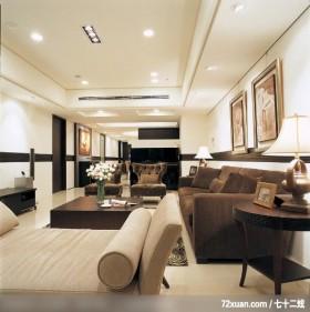 出色的现代古典混搭家居,龙发,董志雄,客厅,钢琴区,无隔间设计,卧榻,造型天花板,