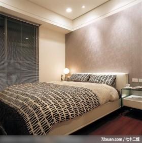 出色的现代古典混搭家居,龙发,董志雄,卧室,造型主墙,造型灯光,床头柜,